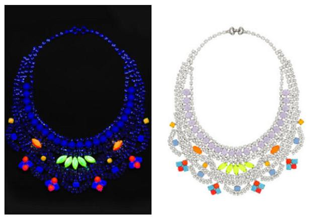 Tom Binns glow in the dark necklace
