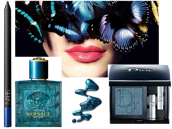 Blue Make Up Summer 2013 Chanel Versace Nars Dior
