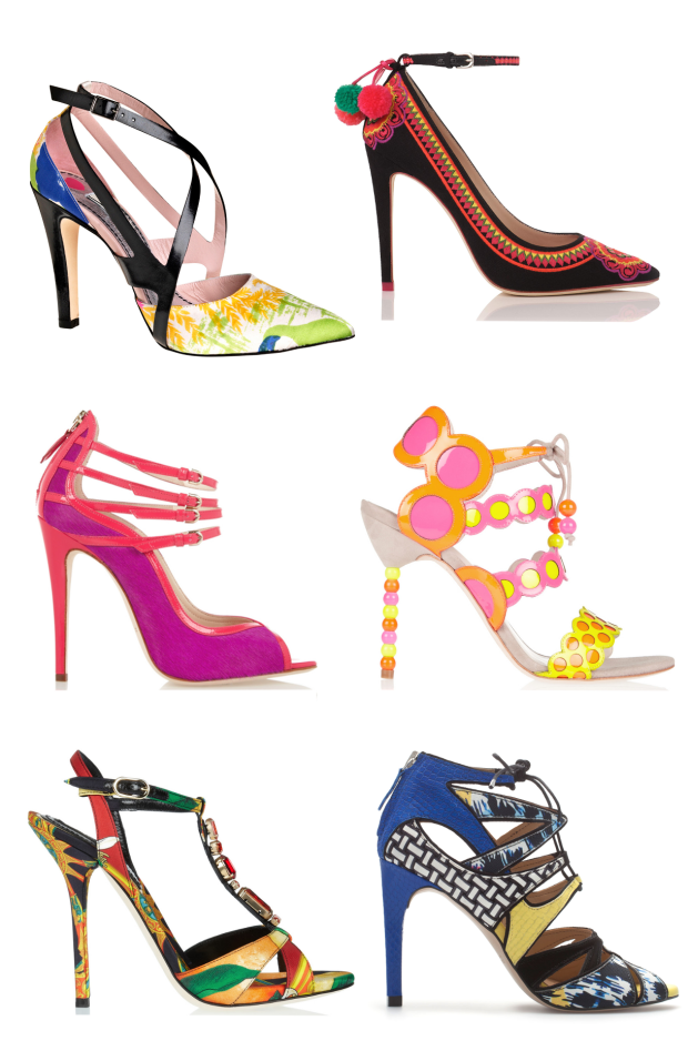 Colourful shoes_