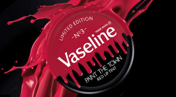 Vaseline Paint The Town Red Limited Edition